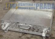 Palangana o recoletor de liquidos en aluminio